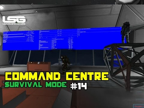 Space Engineers - Command & Control Centre - Part 14
