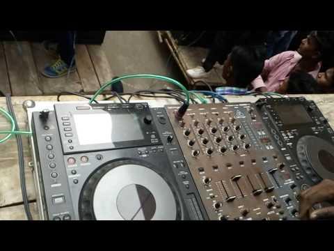 DJ Mahesh live At Kholwad college Kamrej charasta