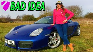 don't let your wife drive your Porsche Cayman because... Valentines dirty weekend vlog
