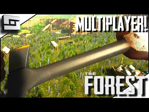 The Forest Multiplayer - MODERN AXE! E23 ( Gameplay )