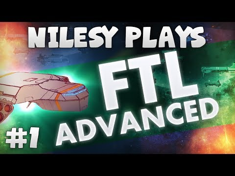 FTL: Advanced Edition with Nilesy: Evading the Rebels!!