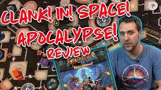 Clank! In! Space! Apocalypse! Expansion Board Game Review + Walkthrough | GLHF Tabletop Gaming