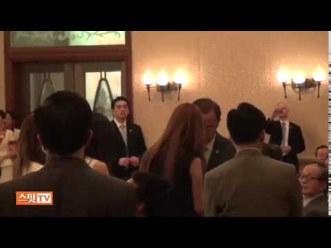 SNSD SeoHyun & BanKiMoon @ Together For Africa S 2 2 Aug12 2011 GIRLS' GENERATION