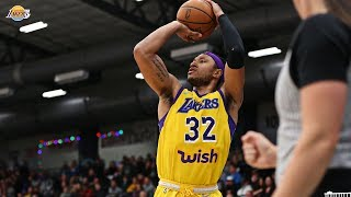 Justin Harper ends the year strong | South Bay Lakers
