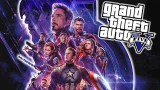 Avengers: Endgame (THANOS, IRON MAN, CAPITÁN AMÉRICA) - GTA 5 MODS
