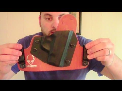 Alien Gear Holster for Smith and Wesson M&P Shield Review