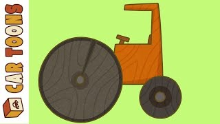 Car Toons: A Compaction Roller. A Cartoon for Kids