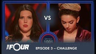 Download Lagu Nicole vs Zhavia: The First REAL Challenge For Zhavia Will She Survive? | S1E3 | The Four Gratis STAFABAND