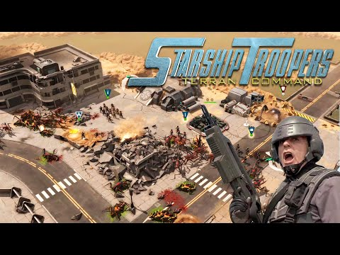 Starship Troopers Terran Command | El Único INSECTO Bueno es el Insecto MUERTO ! - PRIMER GAMEPLAY