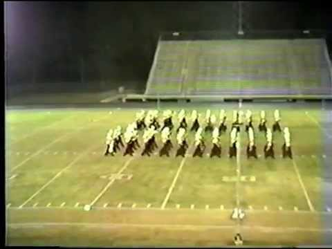 1983 Silsbee High School Region 10 Marching  Contest