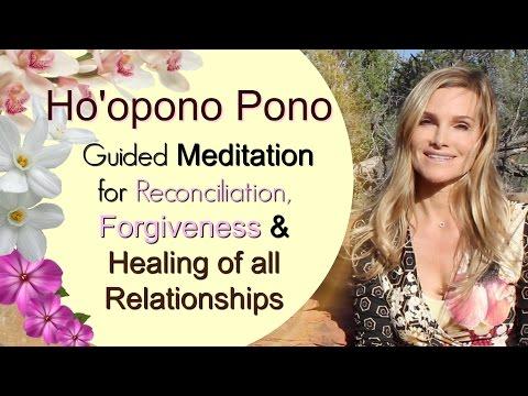 Heal all Relationships - Ho'opono Pono Guided Meditation - Sandra Rolus