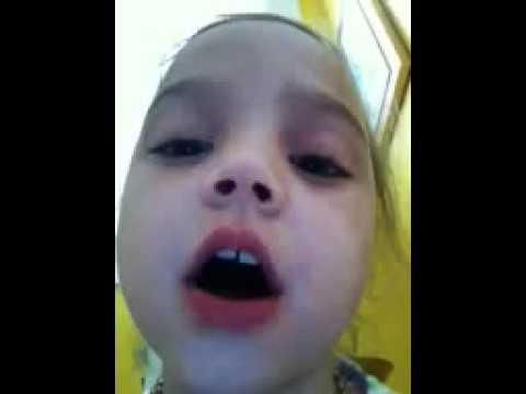 Cute Girl Going Poop! video