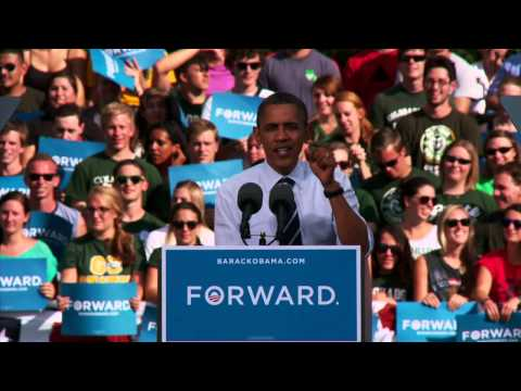 President Obama on the Rocky Mountain Rumble: Who Can Register More Voters? The Buffs or the Rams?