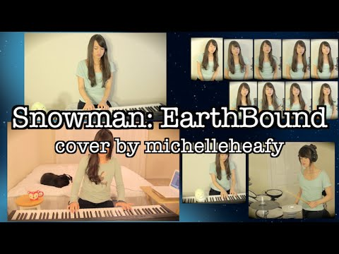 Snowman (EarthBound/Mother) Vocal, Piano Cover by michelleheafy