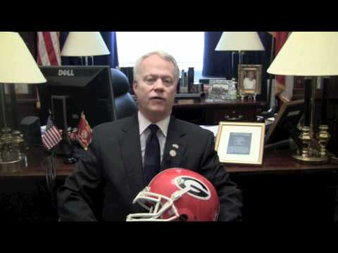 Rep. Paul Broun Invites Tim Tebow to the March for Life