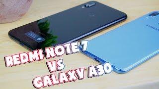 So sánh Redmi Note 7 vs Galaxy A30: Xiaomi VÔ ĐỐI???