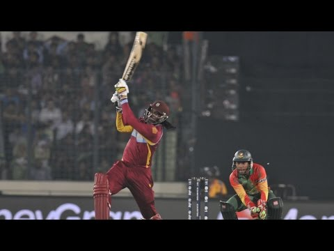Chris Gayle's 215 knock in World Cup- Unbelievable Batting
