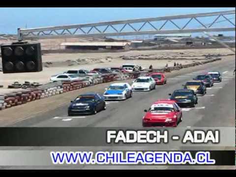 Carreras de autos Iquique noviembre 2009 Video