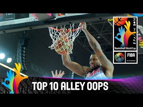 Top 10 Alley Oops - 2014 Fiba Basketball World Cup video