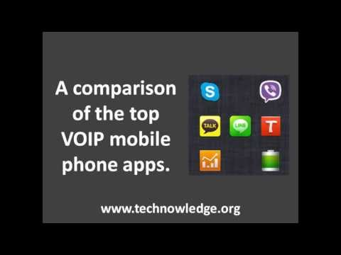 Skype, Viber, Kakao Talk, Tango, Line: comparing the most popular VOIP smartphone apps