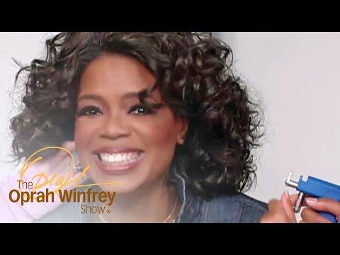 Oprah Gets Her Ears Pierced on National TV | The Oprah Winfrey Show | Oprah Winfrey Network