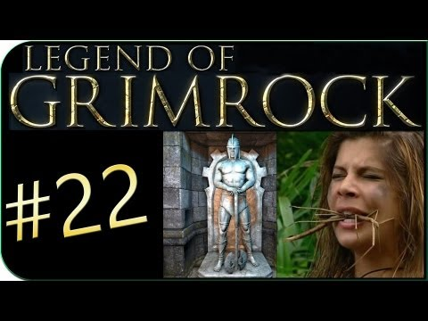 Lets Play Legend of Grimrock #22 - Den Hungertod sterben? [Facecam/Hard/Blind/Deutsch]