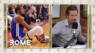 Fans Cheering For Durant's Injury Are SCUMBAGS | The Jim Rome Show