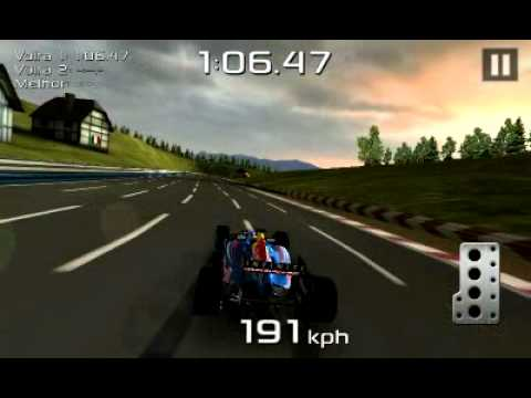 F1 red bull racing - galaxy s2 android game - YouTube