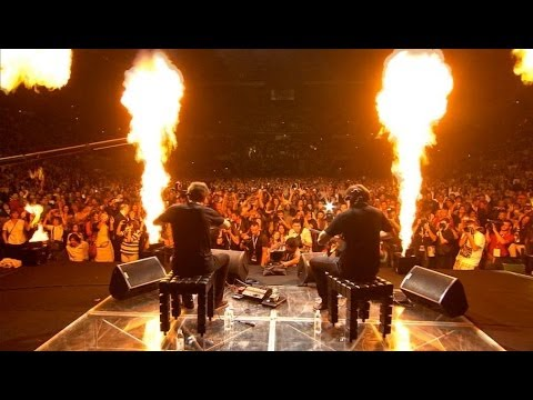 2CELLOS - You Shook Me All Night Long (Live @ Arena Zagreb, 2012)