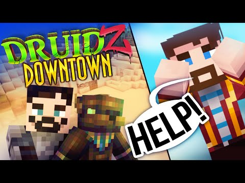 Minecraft Druidz Downtown #2 - The God of Anti-Slavery