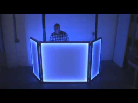 Light Up LED DJ Booth Facadewmv YouTube