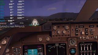 Athlon 200GE Test - Microsoft Flight Simulator X - Gameplay Benchmark Test