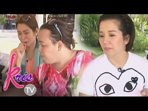 Kris enjoys Bohol with Darla and Pokwang