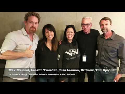 Dr Drew Midday Live With Leeann Tweeden For Sgt Will Gardner Movie With Max Martini And Tom Spooner