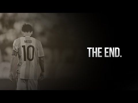 Lionel Messi — This is the end
