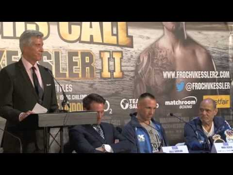 CARL FROCH v MIKKEL KESSLER FULL & UNCUT FINAL PRESS CONFERENCE / O2 ARENA / WARRIORS' CALL