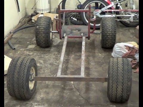 HOMEMADE shifter kart build 5 speed (day-1)
