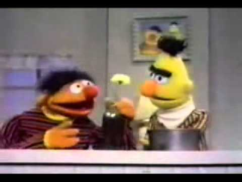 Sesame Street - Ernie Breaks The Cookie Jar