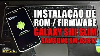 Instalação da Stockrom oficial no Samsung Galaxy S3 slim (SM-G3812) #UTICell