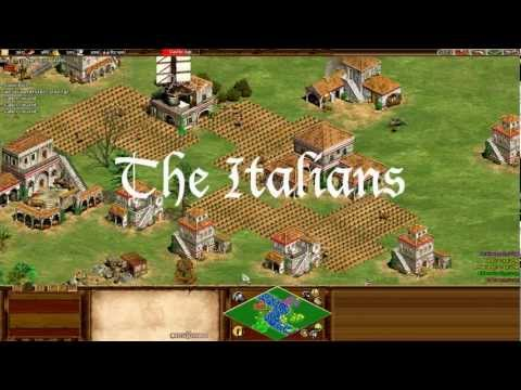 Age of Empires II: Forgotten Empires (Italians)