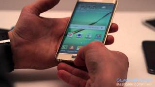 Samsung Galaxy S6 and S6 edge detail hands-on