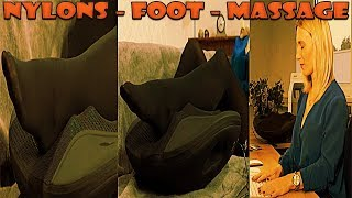 Model FullHD Pantyhose Nylons Feet Massage Collant Strumpfhose on Pearl TV