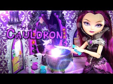 How to Make a Doll Cauldron