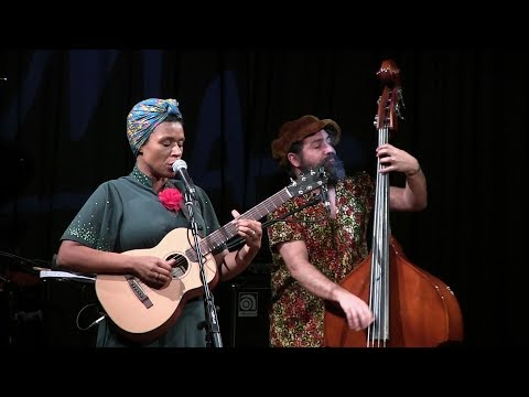 Carmen Souza Crelogy Trio - Catania Jazz - MA - 1 gennaio 2018
