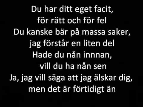 Melissa Horn - Innan Jag Knde Dig