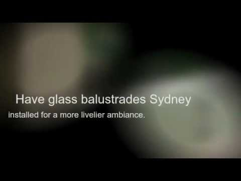 Display A Modern Home with Glass Balustrade Sydney