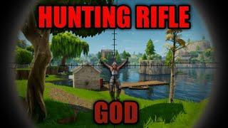 Hunting Rifle God / Insane Kills - Fortnite: Battle Royale (Best Moments)