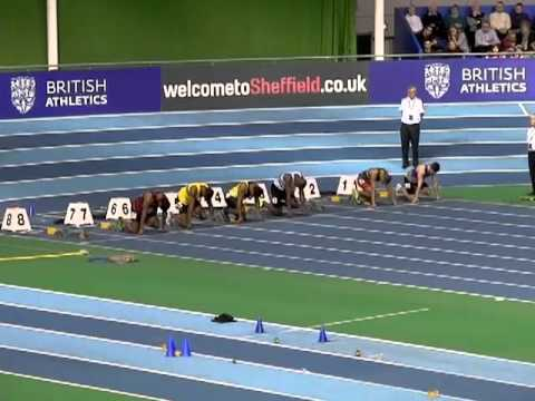 Euro indoors Trials mens 60m Semi final 2