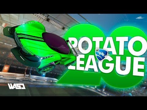 POTATO LEAGUE #28 | Rocket League Funny Moments & Fails