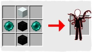 HOW TO SUMMON SLENDERMAN - MINECRAFT CREEPYPASTA